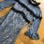 Lilac Lace Mermaid Dress thumbnail 5