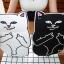 เคสซิลิโคน แมวดำ แมวขาว (เคส iPad mini 4) thumbnail 2