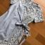 Two-Tone Lady Ribbon Blue Dress thumbnail 5