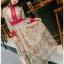 Lady Fancy Colourful Lace Maxi Dress thumbnail 4