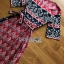 Lady Jane Red and Navy Printed Kimono Dress thumbnail 6