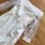 Crepe and Organza Dress เดรสผ้าเครป thumbnail 8