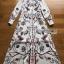 🎀 Lady Ribbon's Made 🎀 Lady Babara Wild Printed White Shirt Dress thumbnail 11