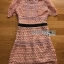 Lady Maria Preppy Feminine Collared Pink Lace Dress thumbnail 6