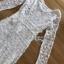 Maxi Dress เดรสยาวผ้าลูกไม้สีขาวทรงแขนยาว thumbnail 8