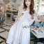 Lady Elise Summer Embroidered Chiffon Dress thumbnail 5