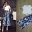 เซ็ทเสื้อ+กางเกงเกาหลีสีขาว thumbnail 2