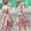 Lady Amy Rose Blossom Printed Crepe Dress thumbnail 3