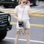 เสื้อกางเกงผ้า polyester สีขาว thumbnail 3