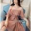Lady Ribbon Chiffon Dress เดรสผ้าชีฟอง thumbnail 3