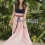 Lady Maddie Striped Ribbon Pleated Dress thumbnail 2
