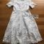 Lace Shirt Dress เชิ้ตเดรสผ้าลูกไม้สีขาว thumbnail 9