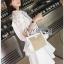 Lady Ribbon Nadia Laser-Cut White Cotton thumbnail 5