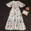 Maxi Dress กระโปรงแต่งระบาย thumbnail 4