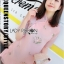 Qipao Dress เดรสทรงกี่เพ้าผ้าชีฟองสีโอลโรส thumbnail 5