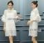 Lady Ann Boleyn Modern Vintage Lace Dress thumbnail 1