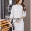 Lady Diamond Sweet White Lace Dress thumbnail 4