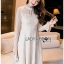 Lady Pat Sweet and Classic Off-White Lace Dress thumbnail 1