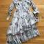Chiffon Shirt Dress เชิ้ตเดรสผ้าชีฟอง thumbnail 5