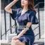 Maria Double-Breasted Dress Lady Ribbon thumbnail 4