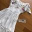 Lady Elise Summer Embroidered Chiffon Dress thumbnail 7