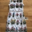 Dress เดรสผ้าลายตารางปักลายดอกไม้ thumbnail 7