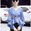 Mini Dress with Ribbon เดรสผ้าเครป thumbnail 4
