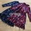 Lady Alora Spring Blossom Printed Ruffle Crepe Dress thumbnail 8