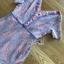 ดรสผ้าลูกไม้สีชมพูฟ้าพาสเทลตกแต่งระบายชายเอียง thumbnail 9