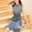 เดรสทรงแขนกุดลุคสาวเกาหลี thumbnail 5