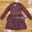 Lace Dress เดรสผ้าลูกไม้สีชมพูฟูเชีย thumbnail 9