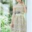 Lady Ribbon Dress เดรสสีเหลืองพาสเทล thumbnail 1