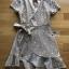 Star Velvet Ruffle Lady Ribbon Dress thumbnail 8