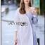 Shirt Dress Lady Ribbon เชิ้ตเดรส thumbnail 3