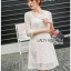 Lady Natalia Everyday Basic White Lace Dress thumbnail 4