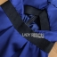 Rosie Sexy Chic Cut-Out Electric Blue Dress thumbnail 3
