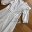 Lady Clemence Ruffle Embroidered White Cotton Dress thumbnail 6