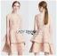 Peachy Lace Dress เดรสผ้าลูกไม้สีพีช thumbnail 1