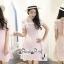 เดรสลุคสาวเกาหลีเดรสโทนสีชมพูหวานๆ thumbnail 1