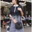 Lace Collared Lady Ribbon Dress thumbnail 3