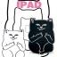เคสซิลิโคน แมวดำ แมวขาว (เคส iPad mini 4) thumbnail 1