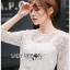 Lady Natalia Everyday Basic White Lace Dress thumbnail 3