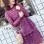 Lace Dress เดรสผ้าลูกไม้สีชมพูฟูเชีย thumbnail 1