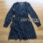 Black Mini Dress Lady Ribbon มินิเดรสผ้าเครปสีดำ thumbnail 7