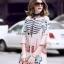 Maxi Dress คอสูงแขนระบายวินเทจ thumbnail 1