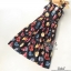 ชุดเดรสสวยผ้าพลิ้วเกรดดี พิมพ์ลายเปลือกหอย thumbnail 8