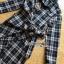 Lady Rachel Ribbon Twist Tartan Wool Shirt Dress thumbnail 6