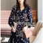 Lady Monica Floral Patterned Printed Wrap Dress thumbnail 2