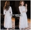 Lace Midi Dress เดรสแขนสามส่วน thumbnail 1