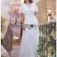 Lady Ashley Pure Royal Lace-Down White Lace Dress thumbnail 4
